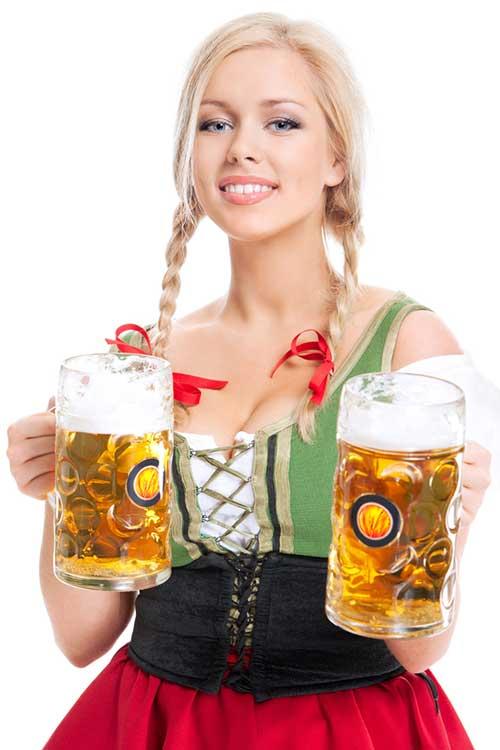 фото телок с пивом